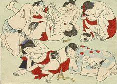 Licking cat なめ猫 Star Festival, Tibetan Art, Kuniyoshi, Erotic Art, Japanese Art, Contemporary Artists, Good Times, Gallery, Animals