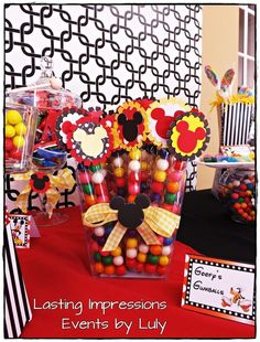 Gumballs at a Mickey Mouse Party #mickeymouse #party