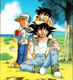 Goku reminds me of when I go Disc Golfing with my family. #SonGokuKakarot