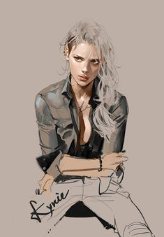 Concept art illustration bad girl by kyrie. Character Illustration, Illustration Art, Illustrations, Female Character Design, Character Art, Character Concept, Otto Von Bismarck, Drawn Art, Realistic Paintings