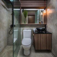 Industrial Bathroom Design Ideas Comment Interior House Toilets Minimalist Studio Bathrooms
