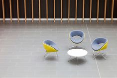 Part of Boss Design - the UK's leading seating manufacturer - Lyndon specialises in the design and manufacture of handcrafted upholstery and furniture for commercial interiors. Office Environment, Soft Seating, Commercial Interiors, Chair Design, Upholstery, Furniture, Happy, Home Decor, Tapestries