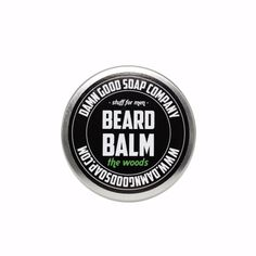 Balsam do brody The Woods Damn Good Soap Company #beard #beardcare #BeardManPL
