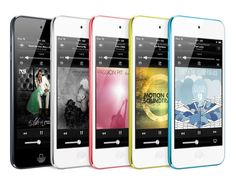 New iPod In Different Colours