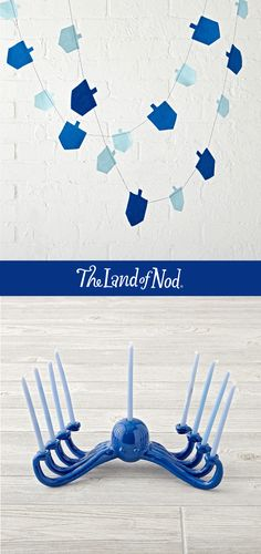 The Land of Nod's exclusively designed Hanukkah collection has everything you need to celebrate this year, including décor, toys and more.