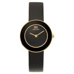 Danish Design titanium IV11Q834 | ultra plat design horloge