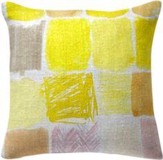 squellow pillow