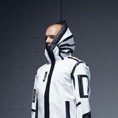 UEG x PUMA (Gravity Resistance)  via ueg-store.com Nomad Fashion, Space Fashion, Mens Fashion, Fashion Design, Cyberpunk Clothes, Cyberpunk Fashion, Tactical Clothing, Inspiration Mode, Outdoor Wear