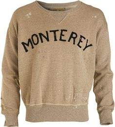 Vintage Monterey Sweatshirt.  Perfect for the Mr.