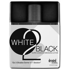 Devoted Creations White 2 Black Supre Advanced Bronzer Tanning Lotion $14.02