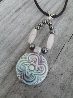 Spiral Croí by ThePricklyPixie on Etsy, $15.00