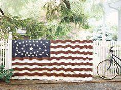 American Flag Gate
