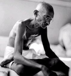 Ghandi.  A wonderful person who pioneered civil disobedience - imagine if the world practiced more of it?  I'd say we'd be in better shape.