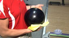 Discover how to clean a bowling ball and keep your equipment in peak condition, and learn simple tips to rejuvenate a ball that hasn't been taken care of.  http://www.usbcbowlingacademy.com/video/how-to-clean-a-bowling-ball-for-peak-performance-009299/