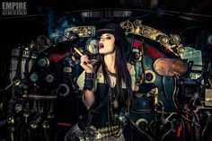 Post Apocalyptic Love story The Engine room by Jaco Bothma Apocalyptic Love, Gear Art, Victorian Steampunk, Gothic, Conceptual Photography, Cool Gear, Cybergoth, Dieselpunk, Fashion Shoot