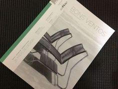 Edição 01 da Revista Bons Ventos. Muito bom produzir o conteúdo desta revista #macdesign #jornalismo