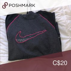 therma-fit hoodie from nike! super warm and cozy athletic look Nike Tops Sweatshirts & Hoodies Athletic Looks, Nike Hoodie, Nike Tops, Hoodies, Sweatshirts, Warm And Cozy, Pink Grey, Nike Women, Fitness