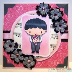 Chi Chi Memories Digital Stamps: Flowers for you, by Kerry Kung