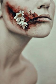 this would make a good part of cool zombie make up :3