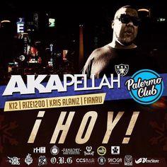 - HOY HOY HOY BUENOS AIRES POR QUE UDS LO PIDIERON ANTICIPADAS V.I.P ESTAN VOLANDO  - ------------------ A K A P E L L A H @akapellahoficial  ------------------- - Unica presentación el proximo 20 de Mayo en palermo Club ademas presentaciones en vivo de >> - F I A N R U  @fianru  (FULL SET) - K 1 2  @elkiko12 (LIVE SET) - K R I S  A L A N I Z @krisalaniz1  (ORIGINAL SET) - R I Z E  1 2 0 0 @rize1200  (LIVE SET) - Hosted by el único  inigualable carismático M I S I O N E R O @misioflow…