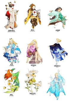 Those outfits are beautiful!! And that Tink is adorable