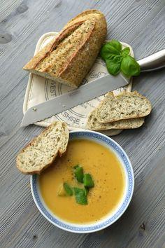 Experimente aus meiner Küche: Süßkartoffel-Kokos-Suppe