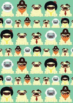 lots of pugs