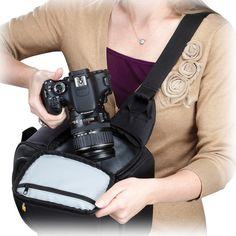 Case Logic TBC-410 DSLR Camera Sling (Black) TBC-410 B Photo $31.10