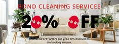 Get the #bestbondcleaningservices in #Brisbane at a 20% discounted price. Hire us today -- 0731529572.