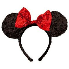 [Ears looking at you]This sequined Minnie ears headband is a fun fashion accessory for your visit to the Disney Parks - and a totally Minnie keepsake to treasure for 'ears to come!