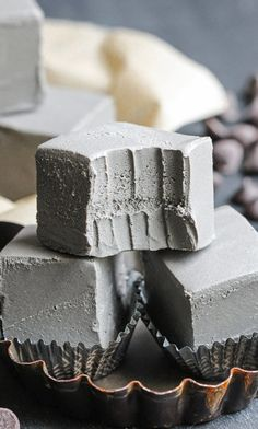 Black Velvet is just like red velvet, only black! This Healthy Raw Black Velvet Fudge is SUPER smooth, ULTRA creamy, PERFECTLY sweet, and DELICIOUSLY chocolatey. You'd never know it's all natural, refined sugar free, gluten free, dairy free, AND vegan...  It sure doesn't taste like it!