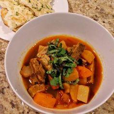 "North African ""beef"" stew - MainlyVeggie.com"