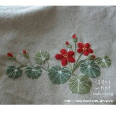 Saltlight_ Embroidery artist, S.Korea 소금빛, 염경숙 Kyeong-Sook Yeom