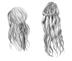 hair style drawing | Amazing Pencil Drawings of Hair