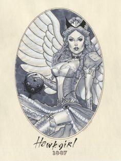 Hawk Girl 1887