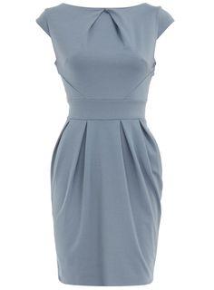 Blue lampshade dress - Dorothy Perkins $21