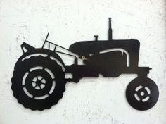 Tractor Metal Wall Art