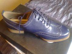 Womens indigo Ecco comfy shoes fit - Dartford car boot fairs - 18663