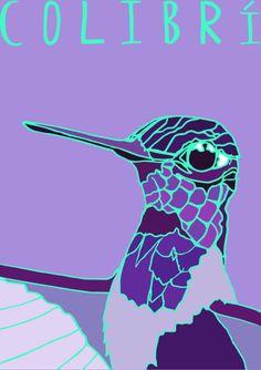 My Illustration Blog AnimalesDelMundo AnimalesDelMundoEcuador Ecuador animales animals illustration ilustración Colibri Hummingbird Ecuador, Illustration, Blog, Movies, Movie Posters, Art, Animales, Drawings, Films