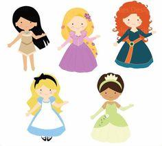 princess 03 digital clipart princess clip art fairytale princess rh pinterest co uk disney princess clipart black and white disney princess clipart png
