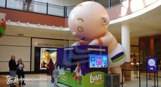 Giant Inflatable Baby - Made right here in Minnesota!