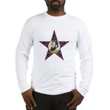 Stonewall Jackson Long Sleeve T-Shirt  http://www.cafepress.com/Civil_War_1861_to_1865  http://www.cafepress.com/CivilWar1861to1865Part2 									 http://www.cafepress.com/USCivilWarColoredApparel