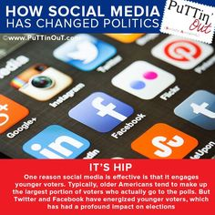 #Socialmedia has energized American youth and produced greater voter turnout. Yay! #Puttinout #MiamiMedia http://www.puttinout.com/