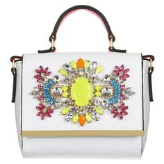 River Island's 10 best handbags for Spring/Summer 2014. www.handbag.com  Wonderful color burst for a bright summer day.