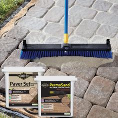 19 Ideas Flagstone Patio Repair For 2019 Sand Patio, Paver Sand, Fire Pit Backyard, Backyard Patio, Backyard Landscaping, Brick Paver Patio, Patio Stone, Brick Driveway, Backyard Projects