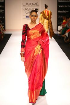 Lakme Fashion Week  Gaurang - like the long sleeved blouse