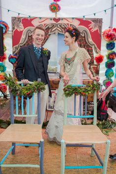 Um casamento colorido e nos moldes �Frida� de ser�