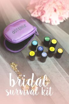 A wedding day is one of the most special days in an individual's life. Make sure to be prepared for the day with a DIY bridal survival kit with an easily stowable doTERRA keychain that holds up to eight of your favorite oils.