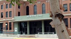 Memorial Hall in downtown Hutchinson, KS