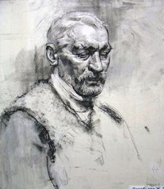 Russian academic drawing.